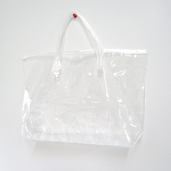 PVCのクリアバッグ