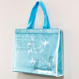 高透明PE2層タイプの不織布バッグ
