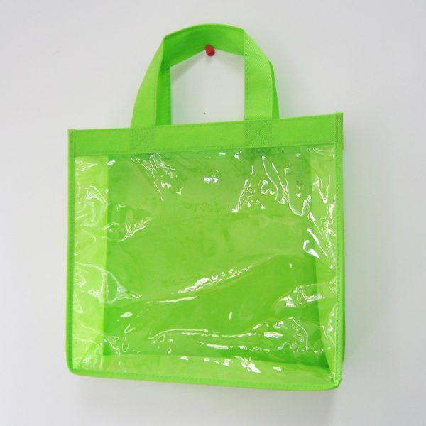 透明不織布バッグ01
