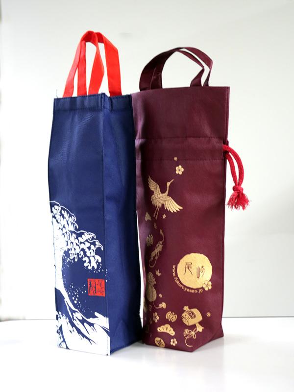 お酒を運ぶ袋たち007