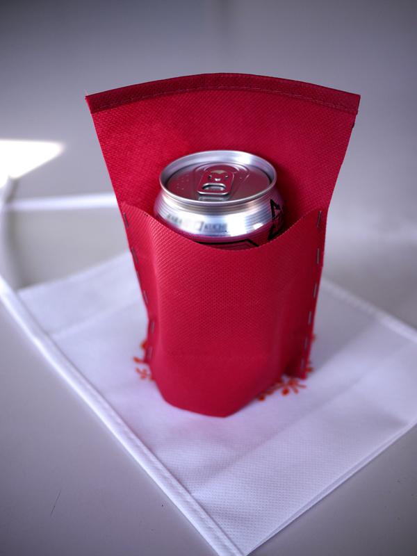 試作缶ビールホルダー